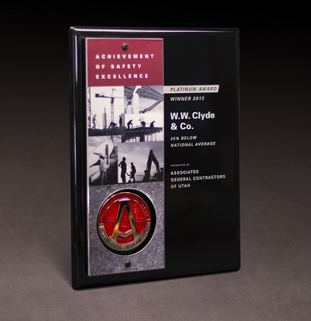 2013 AGC Safety Platinum Award