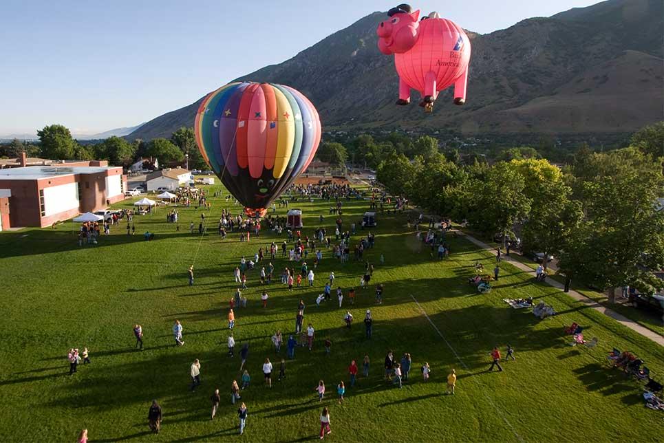 Springville Art City Days Balloon Festival