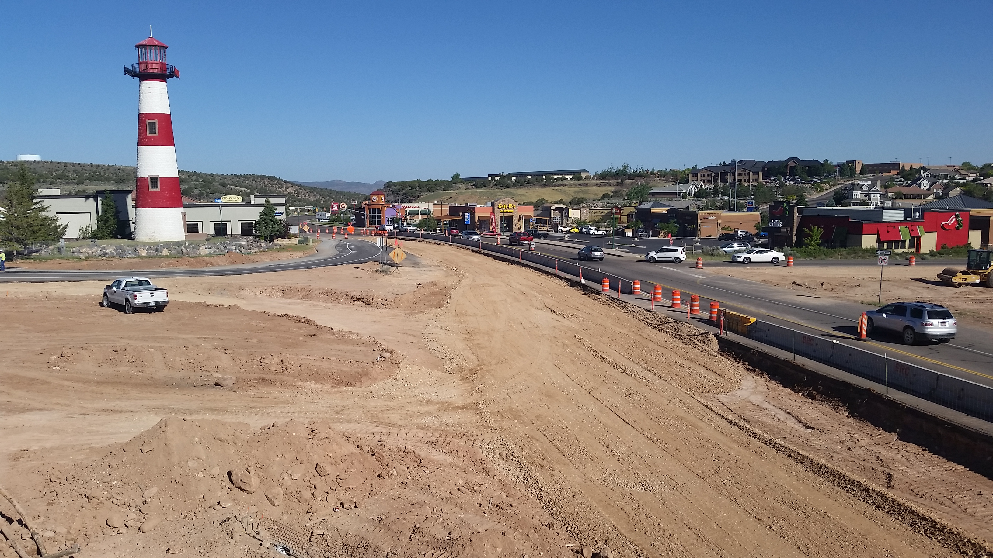 I-15 Cedar City Construction, Cedar City Freeway,