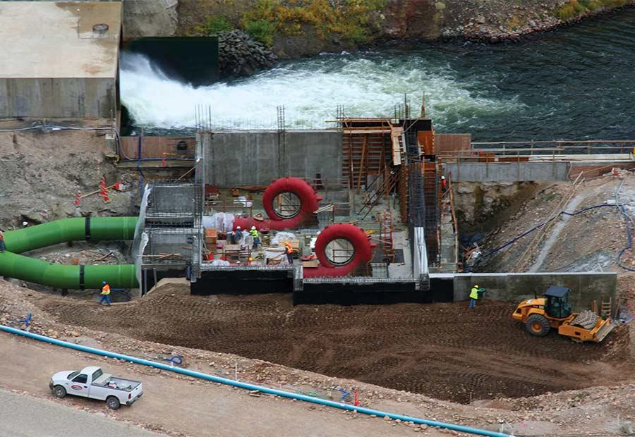 Jordanelle Hydroelectric Plant