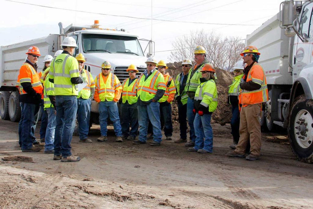 Work Zone Safety Meeting for National Work Zone Awareness Week
