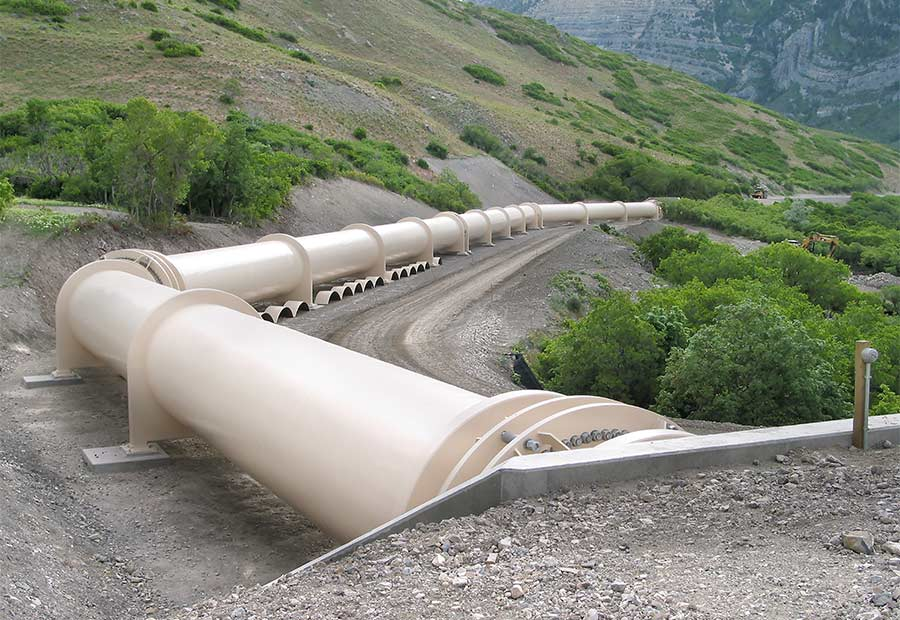 Olmsted Pipeline Alternative Delivery Project has been part of the hundreds of miles installed by WW Clyde