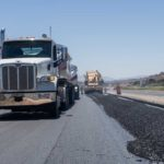Paving Interstate 15 climbing lane