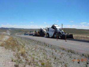 Sage Creek Highway Asphalt Paving