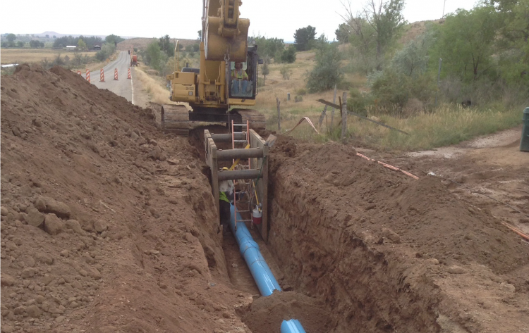 Tridell Lapoint Water Improvements