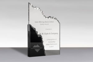 W.W. Clyde & Co. 2017 Utah Mining Safety Award for Outstanding Safety Performance