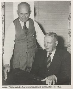 W.W and Jim Sumsion - 1952