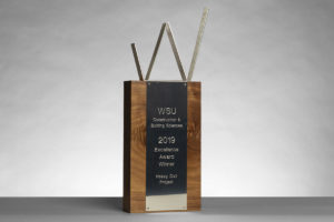 WSU Construction and Building Science Award 2019 for Heavy Civil Project