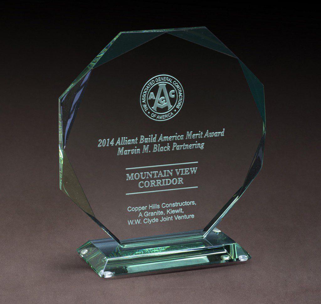 2014 AGC Alliant Build America Award 2