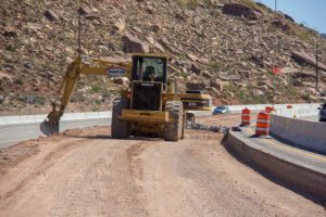WW Clyde building additional lane on I-15