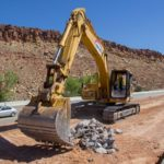 construction on Interstate 15 climbing lane