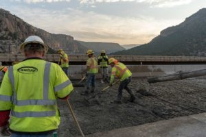 I-70 Concrete Repair construction Job