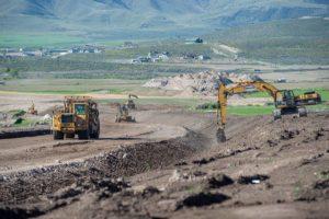 Mountain View Corridor construction in Lehi UT