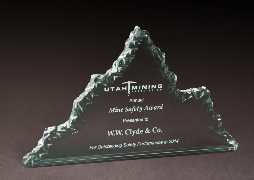 2014 Mine Safety Award