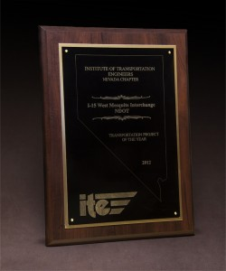 2012 Institute of Transportation Engineers Transportation Project of the Year - I-15 Mesquite Interchange'
