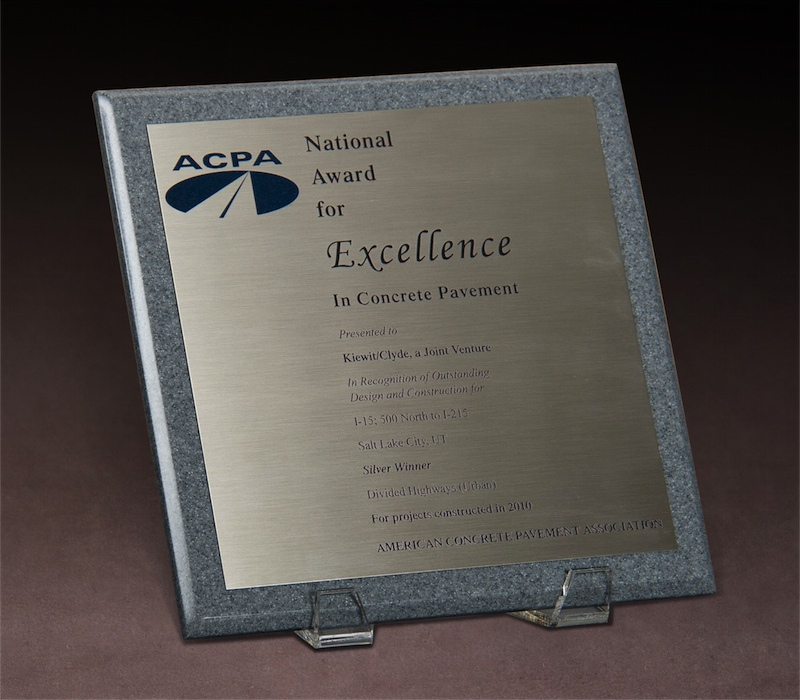 2010 ACPA National Award for Excellence in Concrete Pavement