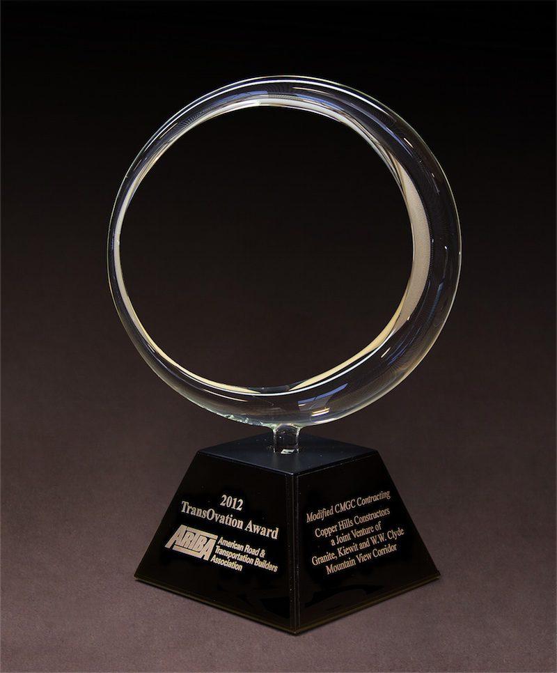 2012 ARTBA TransOvation Award