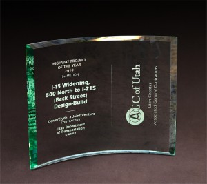 2010 AGC of Utah Highway Project of the Year