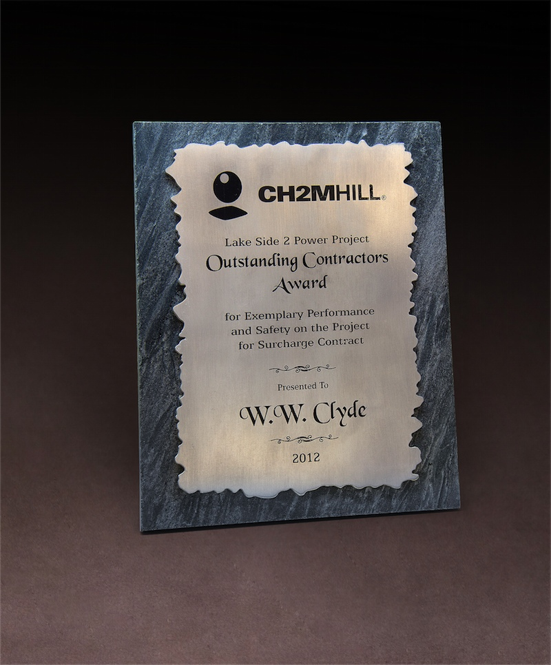 2012 CH2M HILL Outstanding Contractors Award