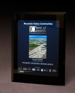 2010 Mountain States Construction '10 Best of Awards - Transportation'