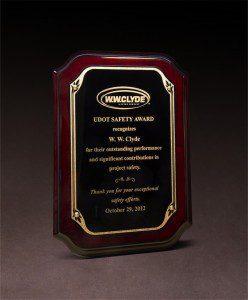 2012 UDOT Safety Award