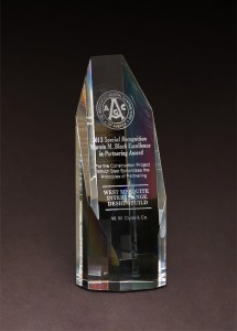 2013 AGC Marvin M. Black Excellence in Partnering Award