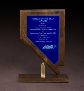 2012 American Public Works Association Project of the Year Award
