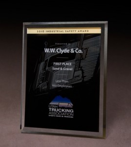 2010 Utah Trucking Association 'Industrial Safety Award'