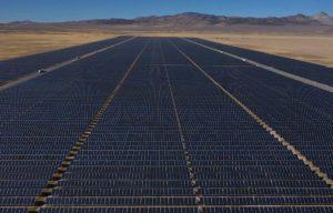 Milford Solar farm on 6,480 acres