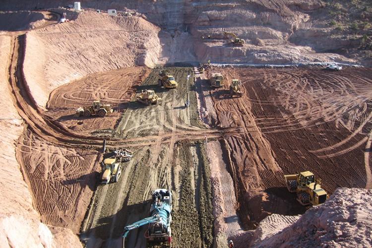 Big Sand Wash Dam Reservoir Enlargement