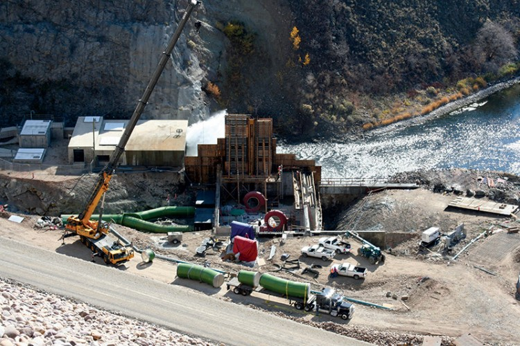 Jordanelle Dam Hydroelectric Plant