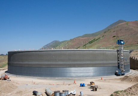 Utah Valley 20 MG Water Tank