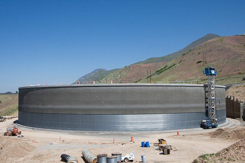 20 Million Gallon water storage