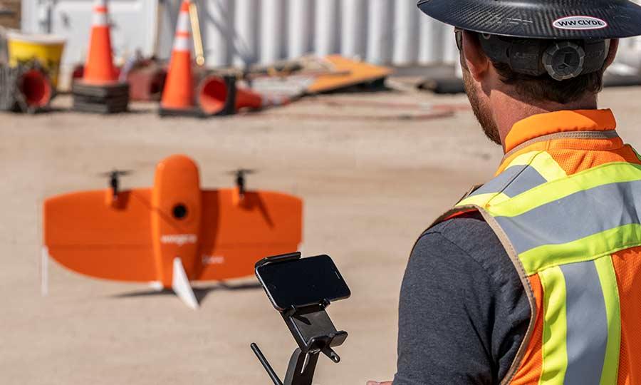 Tech Team Drone Survey Lidar technology