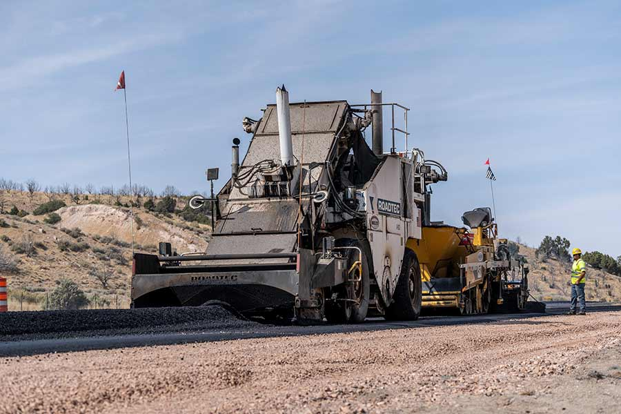 Interstate 15 I-15 Beaver, Utah Paving Alternative Delivery Project